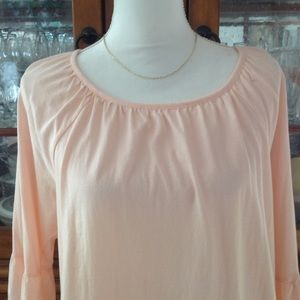 Michael Kors pink boho top